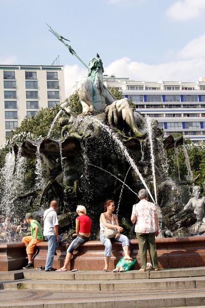 Neptune Fountain Berlin