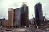 Potsdamer Platz construction site in 1999