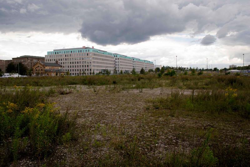 Wasteland Northern Mitte Berlin August 2007