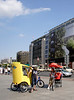 Tricycle Taxis at Potsdamer Platz Berlin