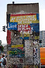 Fragment of The Berlin Wall Potsdamer Platz Berlin
