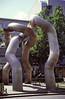 Modern Sculpture Tauentzien Strasse Berlin