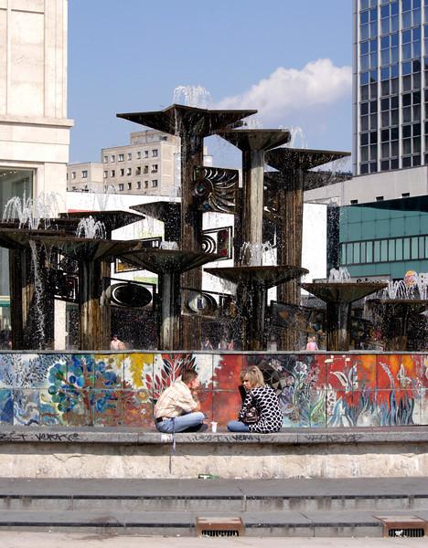 Sculpture Alexanderplatz Berlin