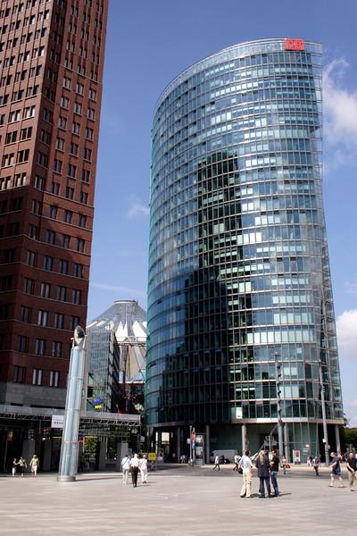 Deutsche Bahn Head Office Potsdamer Platz Berlin