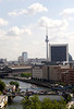 Berlin skyline and River Spree August 2007