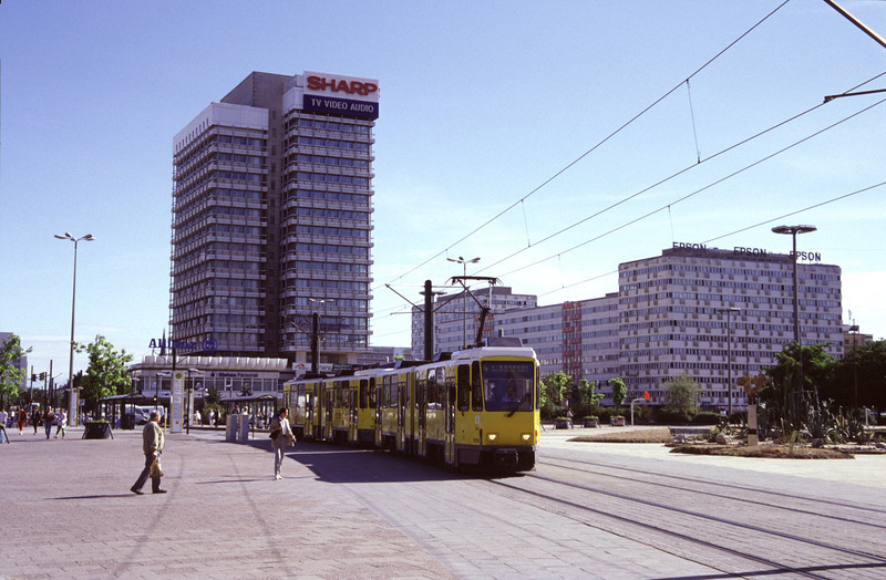 Tram at Alexanderplatz Berlin