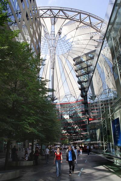 Sony Centre Potsdamer Platz Berlin