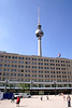 TV Tower and C & A Store Alexanderplatz Berlin