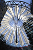 Roof of Sony Centre Potsdamer Platz Berlin