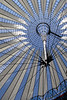 Roof of the Sony Centre Potsdamer Platz Berlin