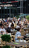Cafe in Sony Centre Potsdamer Platz Berlin