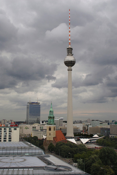 Berlin skyline and TV Tower