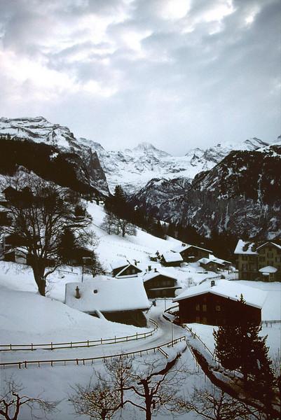 Wengen ski resort