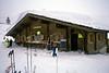 Cafe chalet near Mayrhofen ski resort Austria