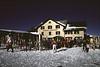 Cafe chalet near Wengen ski resort