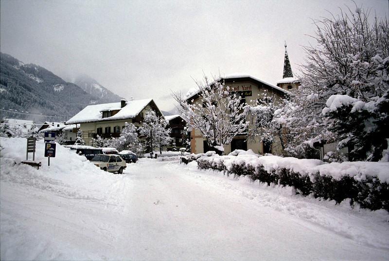 Scotland Yard Pub Mayrhofen ski resort Austria