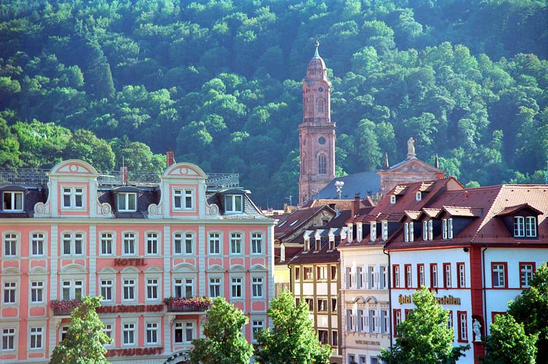 Heidelberg cityscape