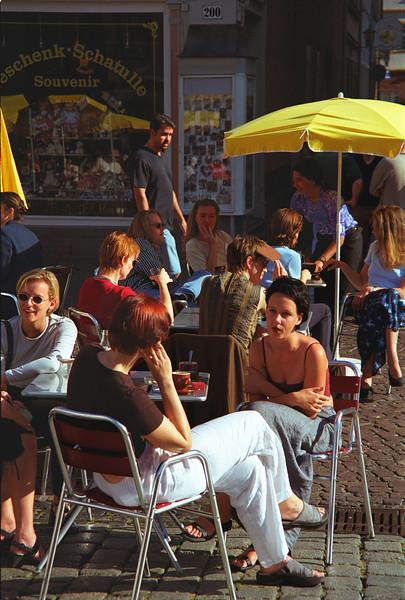 Cafe in Heidelberg