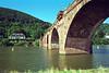 Bridge over the Neckar River Heidelberg