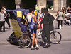Tricycle taxi Munich