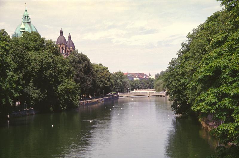 River Isaar Munich