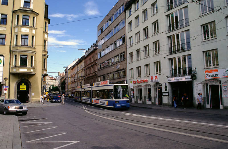 Tram in Munich
