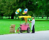 Balloon and ice cream seller Munich
