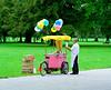 Balloon and ice cream seller Munich