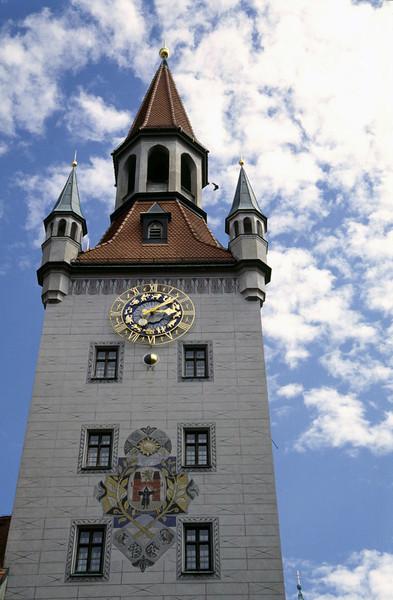Altes Rathaus Marienplatz Munich