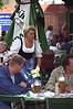 Traditional waitress in Munich Beer Garden