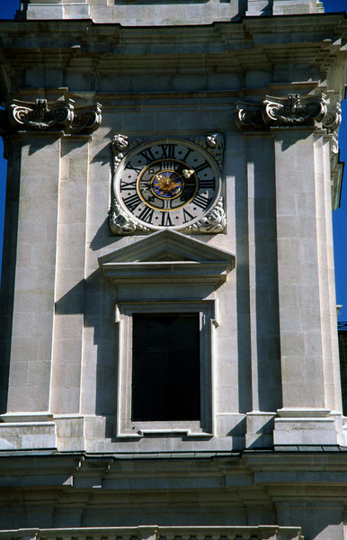 Salzburg Cathedral clock tower