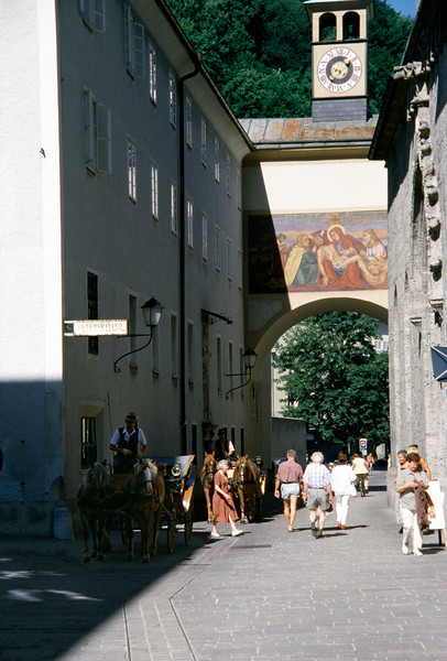 Salzburg near St Peters Abbey