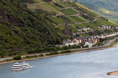 Rhine River Bacharach 02
