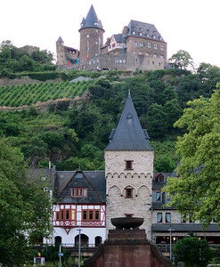Bacharach castle