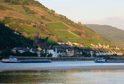 Bacharach Rhine River