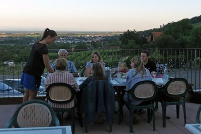 Relais du Klevener terrasse