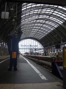 The Frankfurt Hauptbahnhof