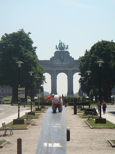 Jubilee Park, aka Parc du Cinquantenaire if you prefer French, located near the Berlaymont building in Brussels.