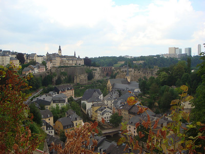 More scenic views from Luxembourg City.