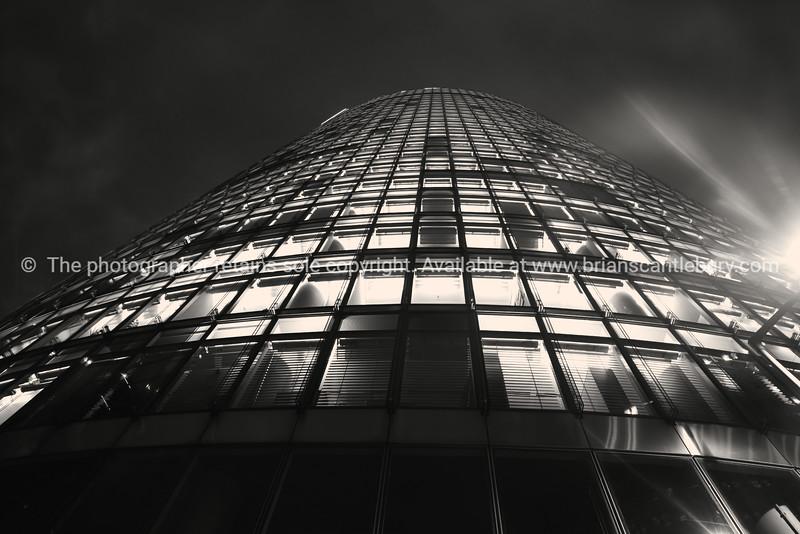 Tower of windows.