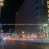 Long exposure night image Friedrichstrasse