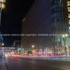 Long exposure night image Friedrichstrasse