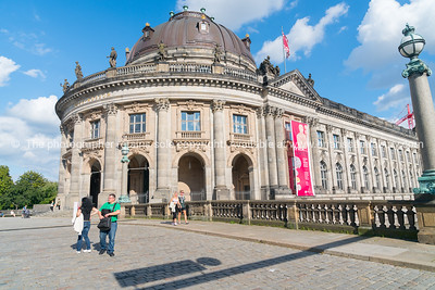 Baroque architectural exterior of Bode Museum, Berlin