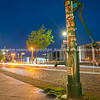 Night scenes and night life along River Spree.