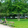 People in Monbijou Park, Berlin Germany