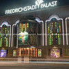 Friedrichstadt Palast retro style building at night