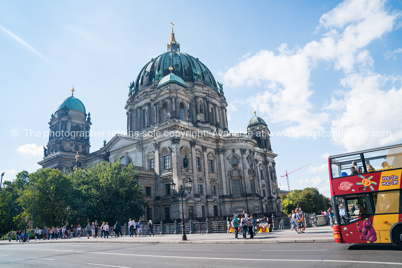 Berlin Cathedral imposing building