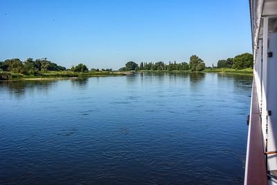Elbe River - Wittenburg Dock