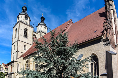 Town Church where Luther Often Preached