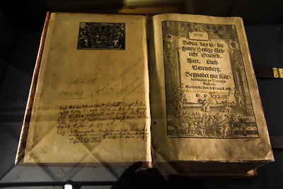 First German Translation of Complete Bible by Luther